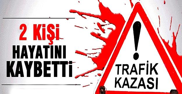 Erzurum'da otomobil şarampole devrildi: 2 ölü