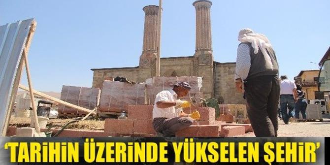 Erzurum'da tarih gün yüzüne çıkarılıyor