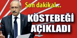 Kılıçdaroğlu köstebeği açıkladı