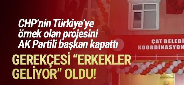 Erzurum'da AK Parti Türkiye'ye örnek olan projeyi bitirdi