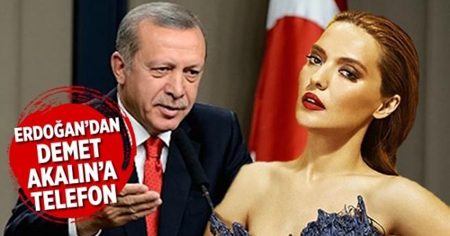Erdoğan'dan Demet Akalın'a teşekkür telefonu