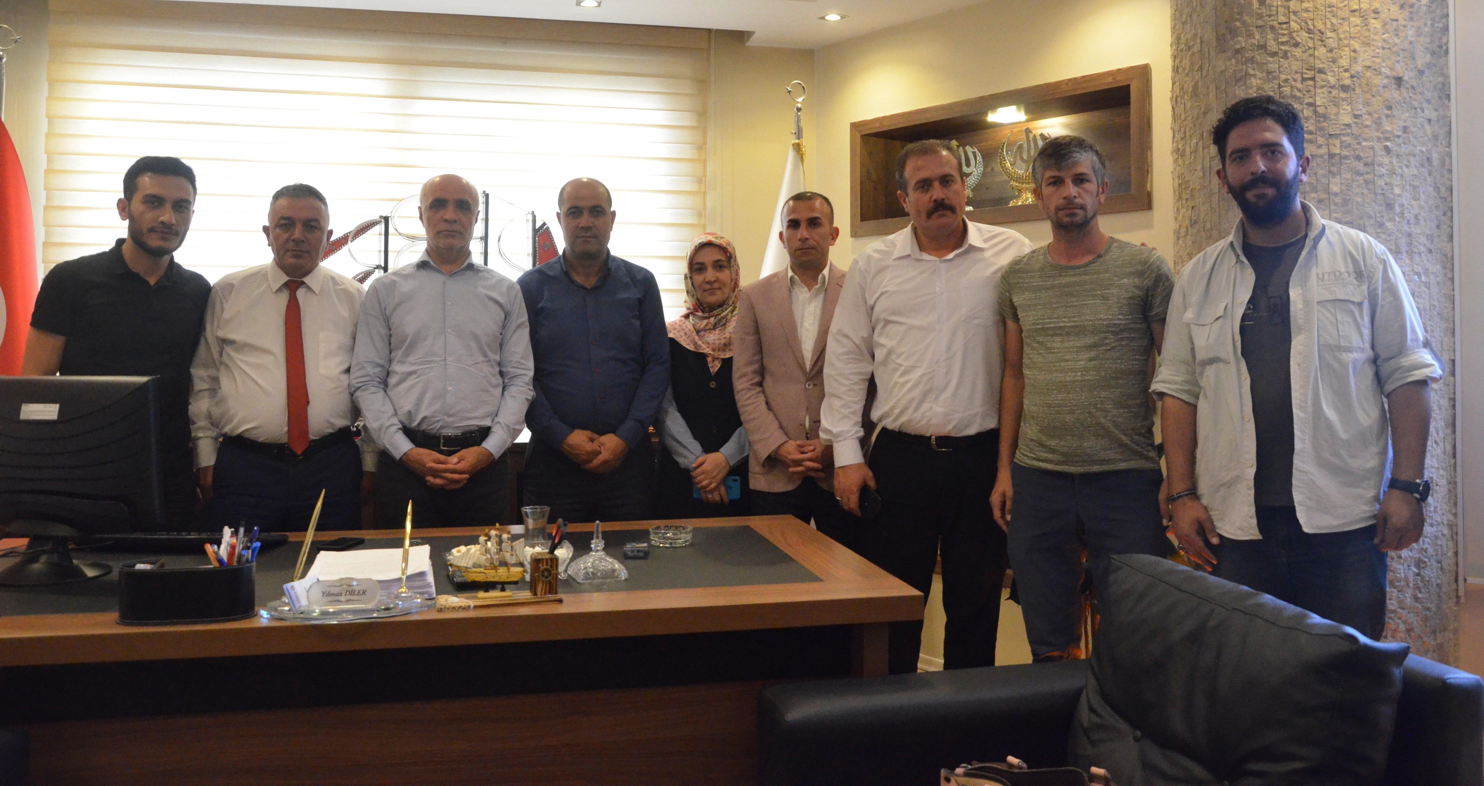 Öz Büro İş Sendikası Genel Başkanı Gülbaba, Erzurum'da