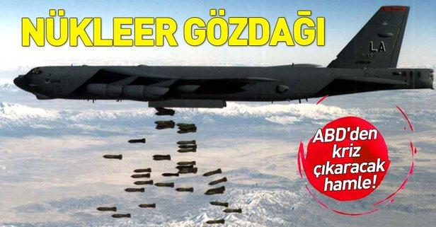Rusya'dan ABD'ye nükleer bombardıman uçaklarıyla gözdağı