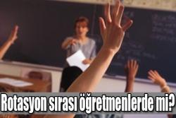 Öğretmenlerde tabi tutulacak!