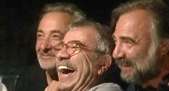 Oktay Kaynarca, Selçuk Yöntem ve Mehmet Aslantuğ'un tatil keyfi!