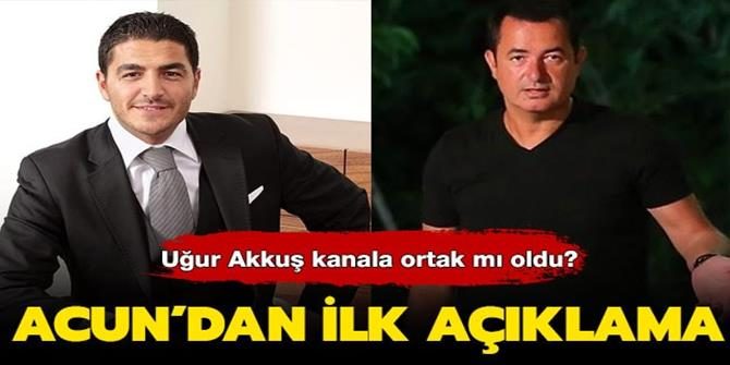 Uğur Akkuş TV8'e ortak mı oldu?