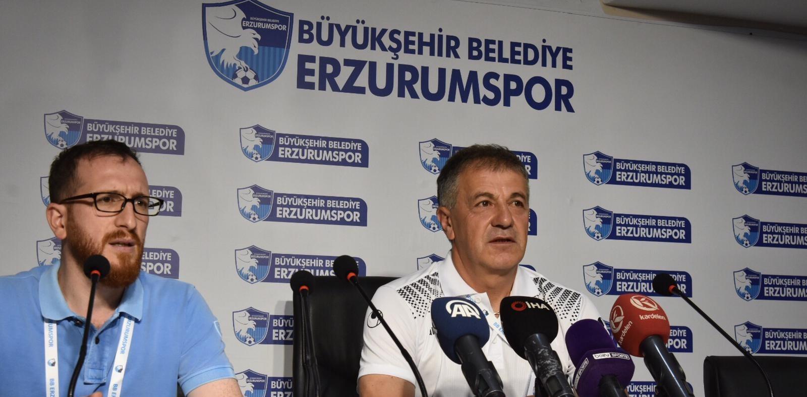 Erzurumspor - İstanbulspor maçının ardından