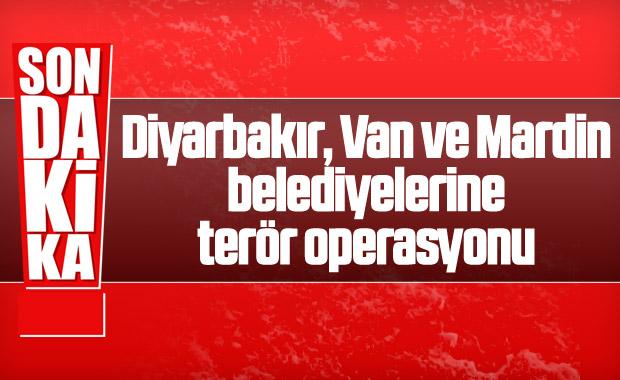 HDP'li 3 belediyeye operasyon
