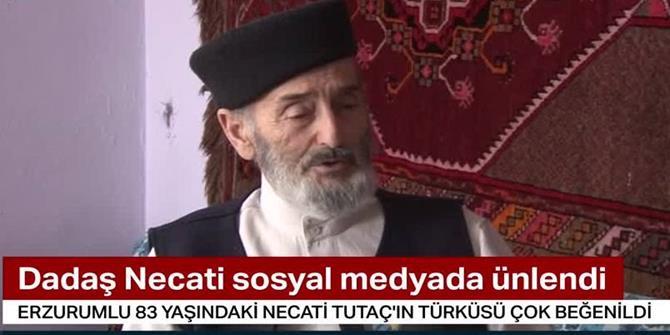 83 yaşındaki 'Dadaş Necati' Türkiye fenomeni