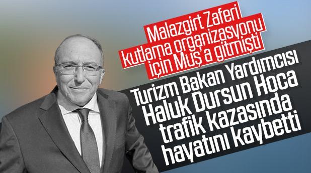 Erdoğan'dan hayatını kaybeden Bakan Yardımcısı Ahmet Haluk Dursun için ilk açıklama!