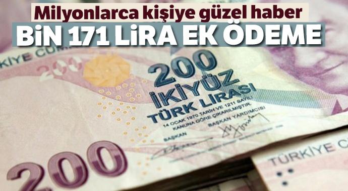 Öğretmenlere eylül ayında bin 171 lira