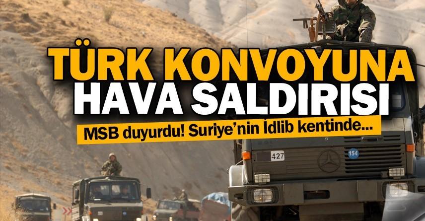 Suriye'de Türk konvoyuna yapılan saldırıyla ilgili ABD'den açıklama