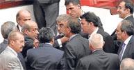 Meclis'te terörist kavgası