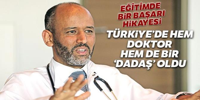 Türkiye'de hem doktor hem de bir 'dadaş' oldu