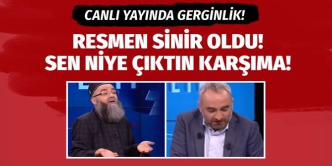Cübbeli Ahmet canlı yayında İsmail Saymaz'a sinir oldu!