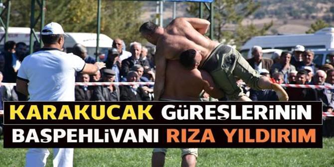 Uluslararası Altın Kemer Karakucak Güreşleri nefes kesti