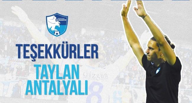 Erzurumspor'dan Taylan Antalyalı'ya teşekkür