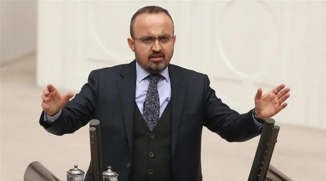 AK Parti Grup Başkanvekili Bülent Turan Bülent Arınç'a 'Ahmet Türk' tepkisi!