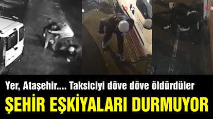 Tüyler ürperten taksici cinayetinin görüntüleri ortay çıktı