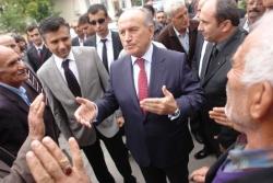 Erzurum'dan Topbaş geçti