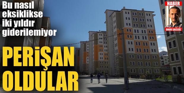 Erzurum'da Perişan oldular