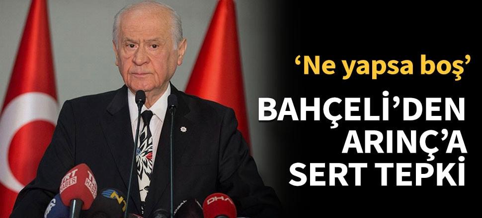 MHP lideri Bahçeli, herkesi hedef aldı