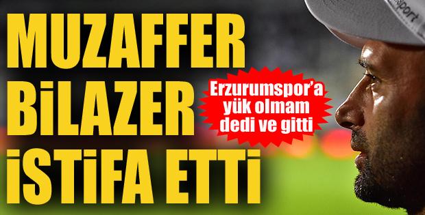 Muzaffer Bilazer istifa etti