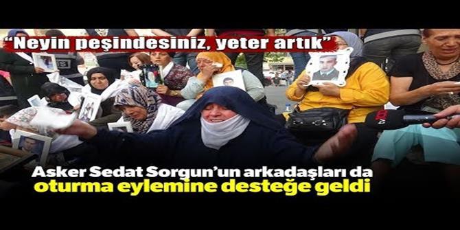 Anaların eylemine Erzurum'dan katılım