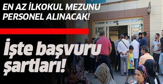 15 Eylül İŞKUR iş ilanları!.