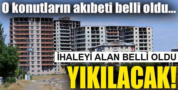 Erzurum'un büyük yatırımı yıkılıyor!