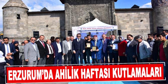 Erzurum'da Ahilik Haftası kutlamaları