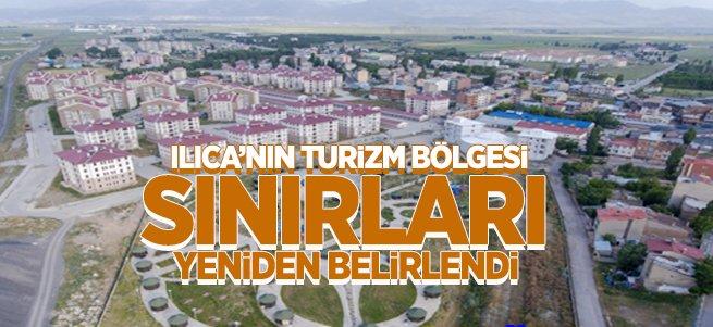 Ilıca'nın Turizm Bölgesi Sınırları Yeniden Belirlendi