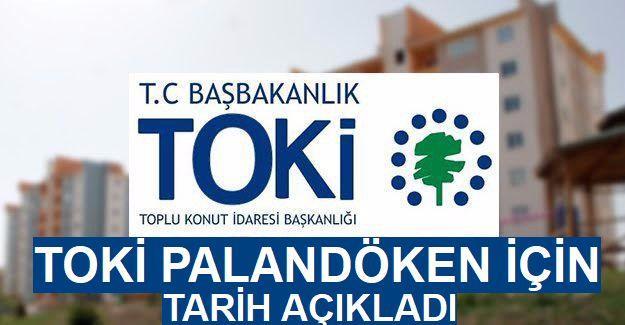 TOKİ Erzurum Palandöken 579 kentsel dönüşüm emekli konutları teslim tarihi
