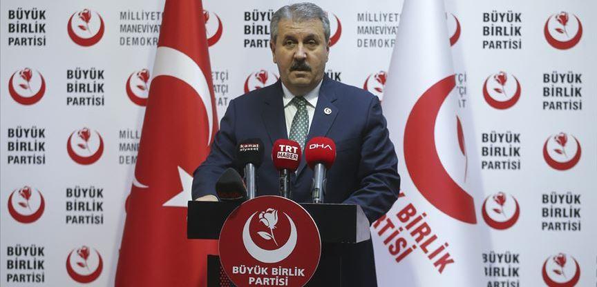 BBP Genel Başkanı Destici: İdam cezasının geri getirilmesini istiyoruz
