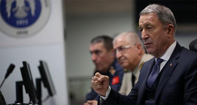 Milli Savunma Bakanı Akar'dan ABD ile ortak devriye açıklaması