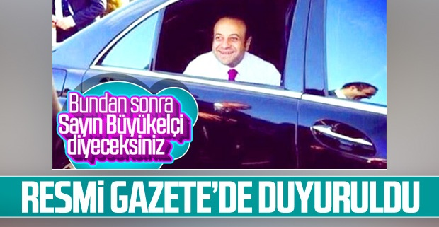 Egemen Bağış büyükelçi oldu! Atama kararı Resasmi Gazete'de