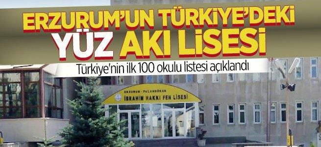 İbrahim Hakkı Fen Lisesi Erzurum'un gururu oldu