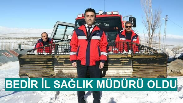 Erzurum İl Sağlık Müdürlüğü'ne Dr. Gürsel Bedir atandı.