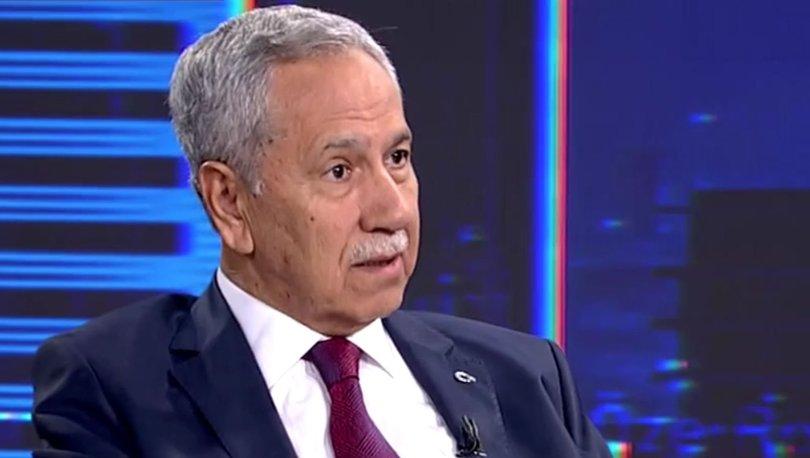 Bülent Arınç'tan 'yeni parti' açıklaması!