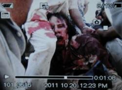 Kaddafi öldü