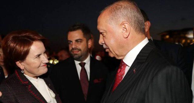"""Akşener, """"2023 seçiminde Erdoğan'ı destekler misiniz?"""" sorusuna cevap verdi"""