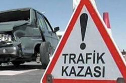 Horasan'da tarafik kazası. 12 yaralı