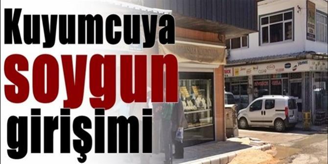 Erzurum'da kuyumcu soymaya kalktı ama!