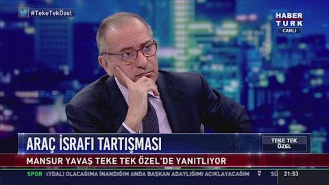 Mansur Yavaş, İstanbul'u örnek gösterdi ve sayıyı açıkladı