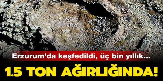 Erzurum'da3 bin yıllık kale keşfedildi!
