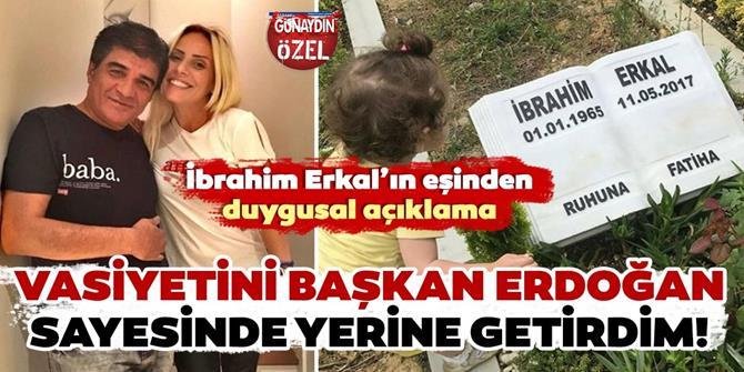 Ünlü şarkıcı İbrahim Erkal'ın eşi Filiz Akgün paylaştı