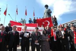 Erzurum'da tepki yürüyüşü