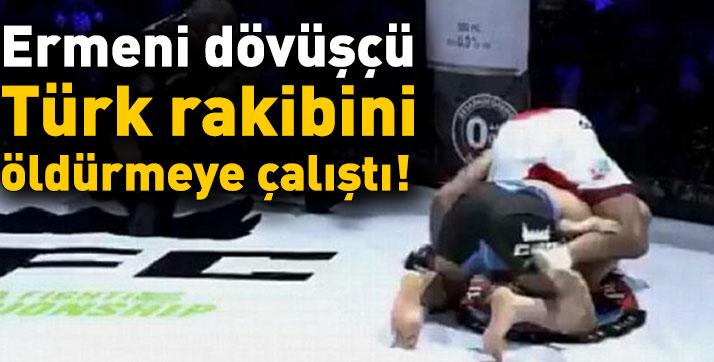 Abrahamyan, Türk rakibi Batuhan Akduman'ı öldürmeye çalıştı