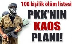 PKK'nın hain planı ele geçirildi