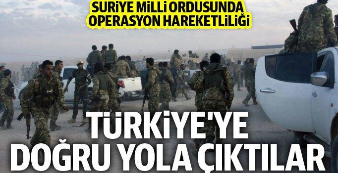 14 bin asker Türkiye'ye doğru yola çıktı!